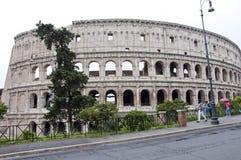 Rome Italien - Maj 01, 2018: amphithheatercoliseum i rome, Italien majestätisk amphithheaterbyggnad i värld resa för värld oc royaltyfri fotografi