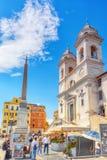 ROME ITALIEN - MAJ 08, 2017: Kyrkligt kloster- brödraskap av Jeru Royaltyfria Foton