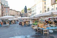 Rome Italien marknad royaltyfria foton