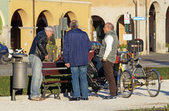 ROME ITALIEN - 14 marsch 2015: Arkivfoton