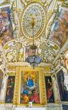 ROME ITALIEN OKTOBER 10, 2017: Det barocka stilkapellet i Royaltyfri Fotografi