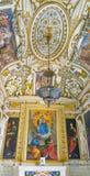 ROME ITALIEN OKTOBER 10, 2017: Det barocka stilkapellet i Royaltyfri Foto