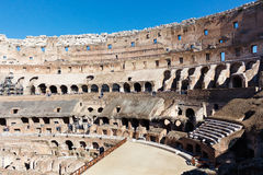ROME ITALIEN - OKTOBER 12, 2016: Fotoet av fördärvar Royaltyfri Bild