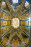 ROME ITALIEN: OKTOBER 12, 2017: Inre av oratoriumdelen Royaltyfria Bilder