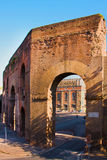 Rome Italien. Porta Arkivfoto