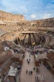 ROME ITALIEN - September 12, 2016: Colosseum i Rome, Italien Arkivbilder