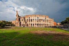 ROME ITALIEN - September 12, 2016: Colosseum i Rome, Italien Royaltyfri Bild