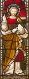 ROME ITALIEN: St Paul aposteln på helgonens för fönsterruta allra anglikanska kyrka vid arbetsrummet Clayton och Hall Royaltyfri Foto