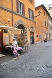 Rome Italien uppassare royaltyfria foton
