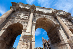 Rome, Italy. The Arch of Constantine near the Colosseum in Rome Stock Photography