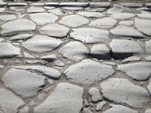 Rome, Italy, Appian way (Appia Antica) cobblestone Stock Photos