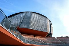 Auditorium Parco della Musica in Rome, Italy Royalty Free Stock Photography