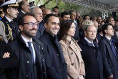 167th Anniversary of the Italian Police. Public ceremony stock photos