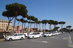 ROME, ITALY - APRIL 9, 2015: Piazza Venezia on April 9, 2015 in Stock Photo