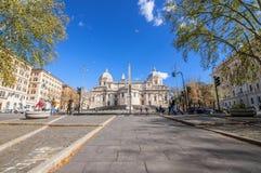 Piazza Dell Esquilino, Rome stock photo