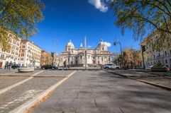 Piazza Dell Esquilino, Rome stock photography