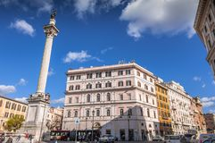 Piazza Dell Esquilino, Rome royalty free stock photos