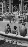 ROME, ITALY - AUGUST, 1980 Royalty Free Stock Images