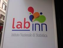Logo of the Italian LAB INN, laboratory for innovation royalty free stock image