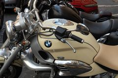 Bmw motorcycle stock photography
