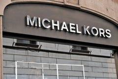 Michael Kors store stock image