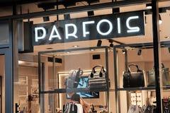 Parfois shop stock images