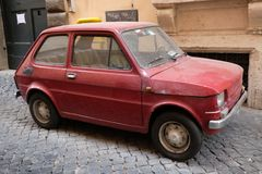 Fiat 126 car royalty free stock photography