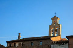Rome, Italy -  Basilica Cosma e Damiano Stock Photography