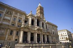 Rome italy basilica di santa maria maggiore sanctuary Stock Image