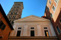 San Silvestro Church in Rome, Italy royalty free stock images