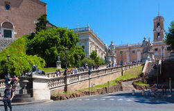 Rome.Italy. The Capitoline Museum Stock Image