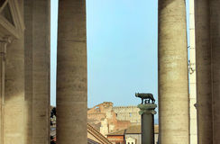 Rome, Italy - Capitoline Wolf stock photography