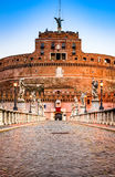 Rome, Italy - Castle Sant Angelo Royalty Free Stock Images