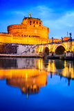 Rome, Italy - Castle Sant Angelo Royalty Free Stock Photo