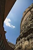 Courtyard in Castel Sant`Angelo royalty free stock images