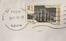 Stamp of Italy Stock Image
