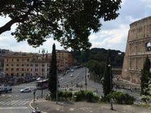 Rome. Italy city Europe street Stock Photos