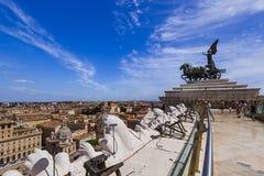 Rome Italy cityscape Royalty Free Stock Photography
