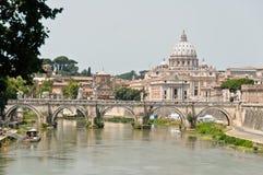 Rome - Italy. Cityscape of beautiful Rome , Italy Stock Photo