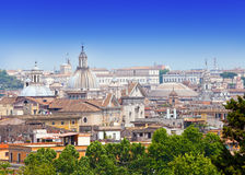 Rome. Italy.Cityscape in a sunny day Stock Images