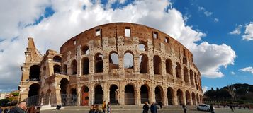 Rome Italy Coliseum Stock Photography