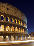 Rome, Italy, Coliseum by night Royalty Free Stock Images