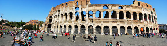 Rome Italy Colosseum 2013 Royalty Free Stock Photos