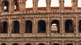 Rome, Italy: Colosseum, Flavian Amphitheatre Royalty Free Stock Photo