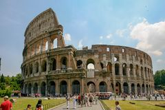 Rome, Italy - The Colosseum stock image