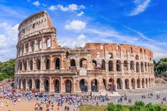 Rome, Italy, Colosseum . stock images