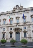 The Consulta Palace in Rome royalty free stock photography
