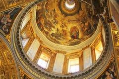 Rome, Italy -December 30, 2018: Basilica di Santa Maria Maggiore in Rome, Italy. Santa Maria Maggiore, is a Papal major. Rome, Italy - December 30, 2018 stock image