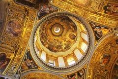 Rome, Italy -December 30, 2018: Basilica di Santa Maria Maggiore in Rome, Italy. Santa Maria Maggiore, is a Papal major. Rome, Italy - December 30, 2018 stock photography