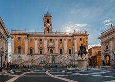 Piazza del Campidoglio royalty free stock photos